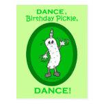 ¡Danza, salmuera del cumpleaños, danza! Tarjetas Postales