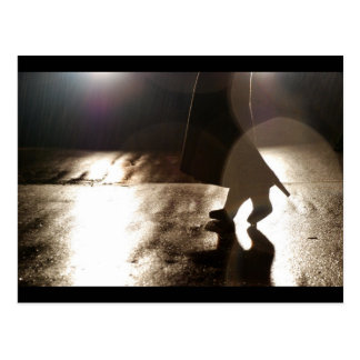 Danza sin un socio tarjeta postal
