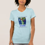 Danza T azul de la luna Camiseta