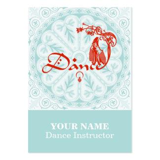 DANZA - tarjeta de visita