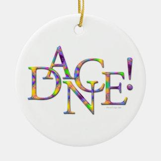 ¡Danza! (Teñido anudado) Adorno