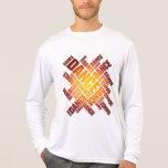 Danza tipográfica (fuego) camiseta
