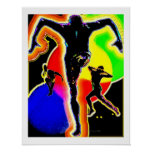 Danza tribal del fango posters