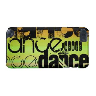 Danza; Verde vibrante, naranja, y amarillo Funda Para iPod Touch 5G