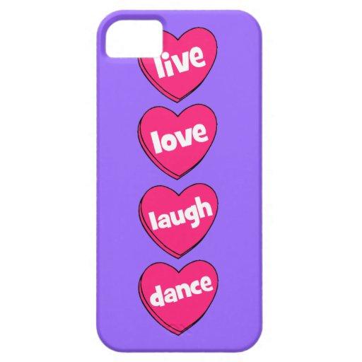 danza viva de la risa del amor iPhone 5 Case-Mate fundas