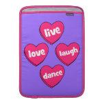 danza viva de la risa del amor funda  MacBook