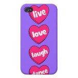 danza viva de la risa del amor iPhone 4/4S fundas