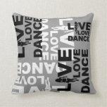 Danza viva del amor almohada