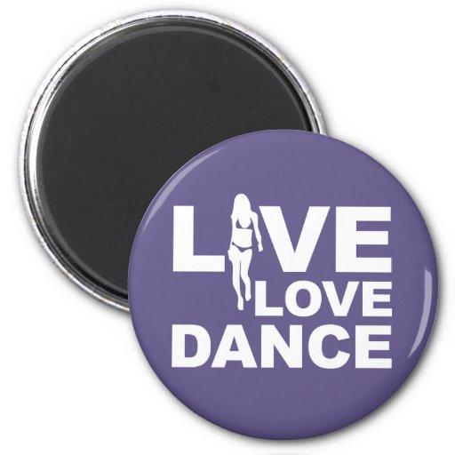 Danza viva del amor imán