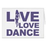 Danza viva del amor tarjetón