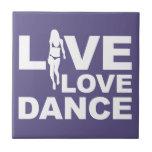 Danza viva del amor tejas