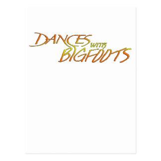 Danzas con Bigfoot Postales