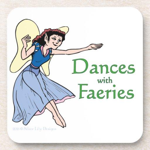Danzas con Faeries Posavasos De Bebida