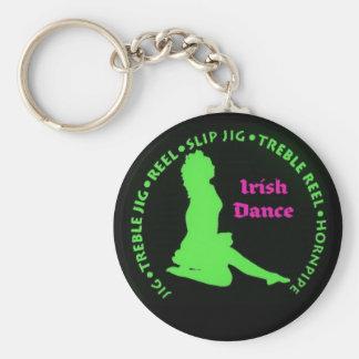 Danzas del irlandés llaveros