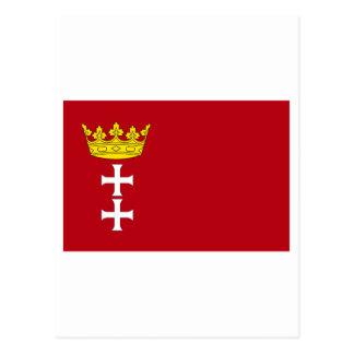 Danzig - Gdansk Flag Post Card