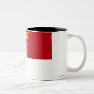 Danzig - Gdansk Flag Two-Tone Coffee Mug