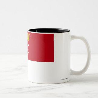 Danzig - Gdansk Flag Two-Tone Coffee Mug