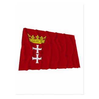 Danzig - Gdansk Waving Flag Post Cards