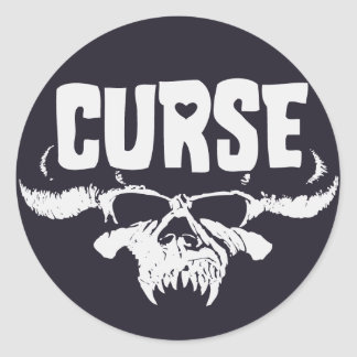 Danziggy Curse Sticker