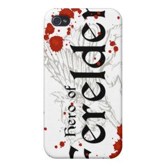 DAO - Hero of Ferelden - light iPhone case iPhone 4 Case