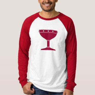 DAoC Albion - camiseta del raglán de los hombres Remeras