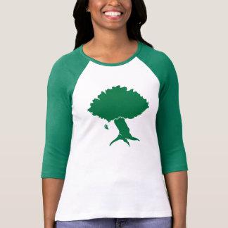 DAoC Hibernia - camiseta del raglán de las mujeres