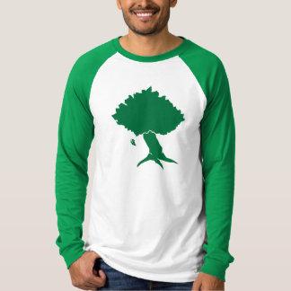 DAoC Hibernia - camiseta del raglán de los hombres Poleras