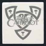 "DAoC Marble Stone Coaster<br><div class=""desc"">Exclusive Dark Age of Camelot marble stone coaster with black DAoC Knot.</div>"