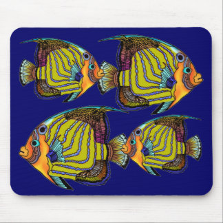 Daorges Angelfish Mouse Pad