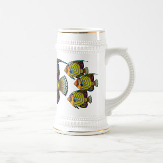 Daorges Angelfish Silver Banded Stein