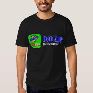 Dap App Tagline Black T-Shirt