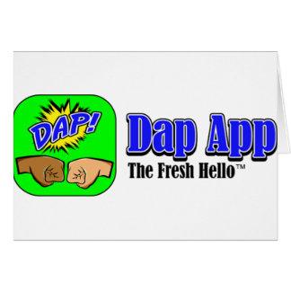 DAP APP TAGLINE CARD