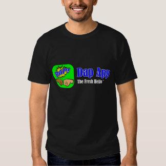 DAP APP Tagline Color Tee Shirt