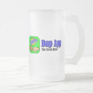 DAP APP TAGLINE 16 OZ FROSTED GLASS BEER MUG