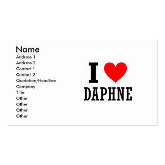 Daphne, Alabama Double-Sided Standard Business Cards (Pack Of 100)