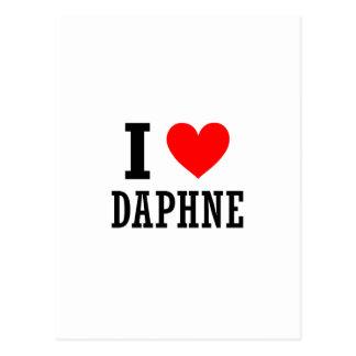 Daphne, Alabama Postcard