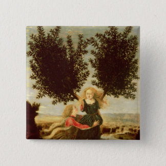 Daphne and Apollo, c.1470-80 Pinback Button
