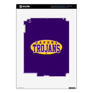 Daphne High School; Trojans Decal For iPad 3
