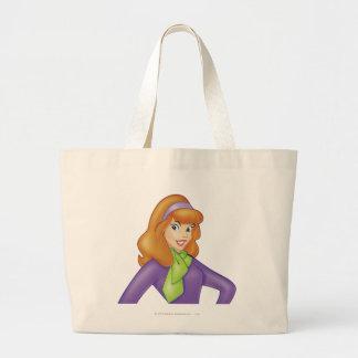 Daphne Pose 15 Large Tote Bag
