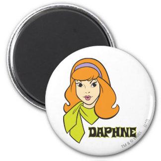 Daphne Pose 21 2 Inch Round Magnet