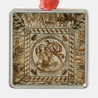Daphne pursued by Apollo Metal Ornament