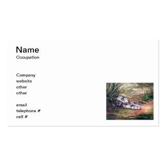 Daphne Snake Business Cards