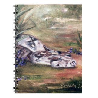 Daphne Snake Notebook