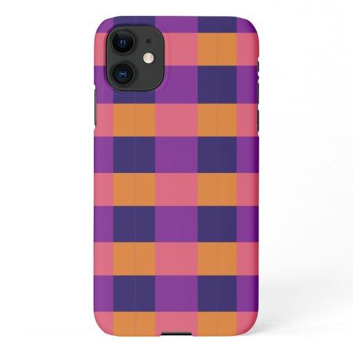 Daphne Tartan iPhone 11 Case