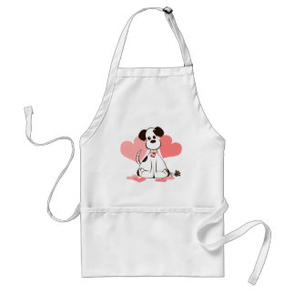 Daphne the Adopted Dog Adult Apron