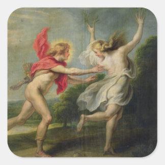 Daphne y Apolo (aceite) Colcomanias Cuadradases