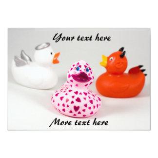 Daphne's In Love - Conscience Ducks Card