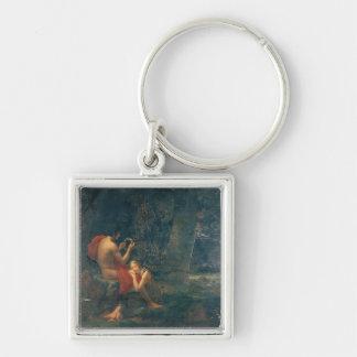 Daphnis and Chloe, 1824-25 Keychain