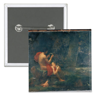Daphnis and Chloe, 1824-25 Pinback Button