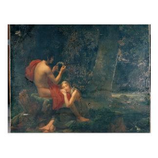 Daphnis and Chloe, 1824-25 Postcard